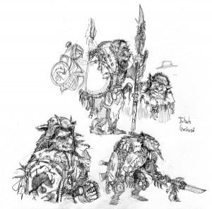 Sketches of Goblins