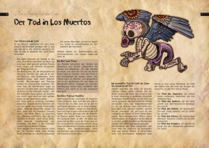 An angelito-charakter from the Los-Muertos-RPG. Angelito aus dem Rollenspiel Los Muertos.