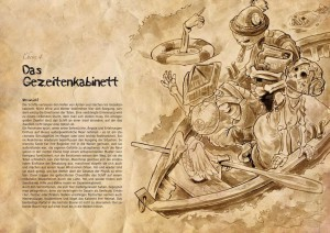 Levelstarter Gezeitenkabinett from the Los Muertos RPG.