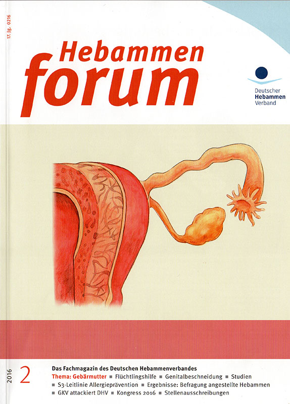Motive zum Uterus - Hebammenforum 02/2016