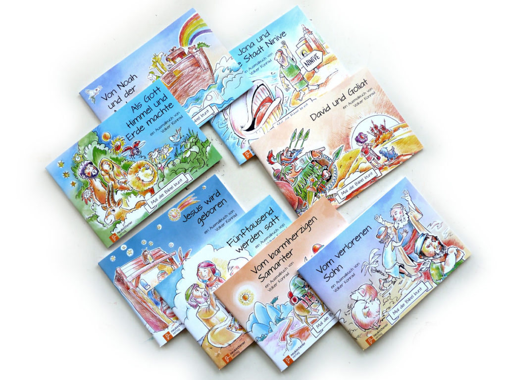 Set of Colouring Books - Colourize the Bible