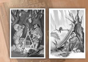 Illustration für Das Schwarze Auge (DSA) Spielhilfe Wege des Entdeckers