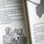 "Illustration of the poetry slam text ""Stell die Welt auf den Kopf"""