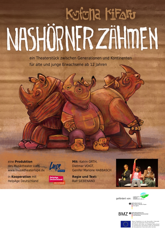 Poster for a Theater Play in Osnabrück - Plakat für eine Theateraufführung in Osnabrück - by Volker Konrad