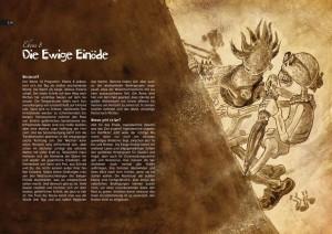 Levelstarter Ewige Einöde from the Los Muertos RPG.