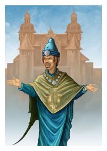 RPG Charakter: Marino von Caven - Efferdgeweihter - Priest of the Seas God Efferd