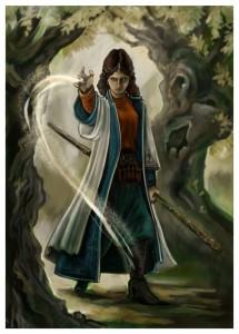 "Sorceress from RPG ""The Black Eye"" - Aranische Magierin aus dem Rollenspiel DSA"