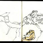 Skizzenbuch 2013 - Bartagame