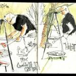 Skizzenbuch 2013 - Gartengrill