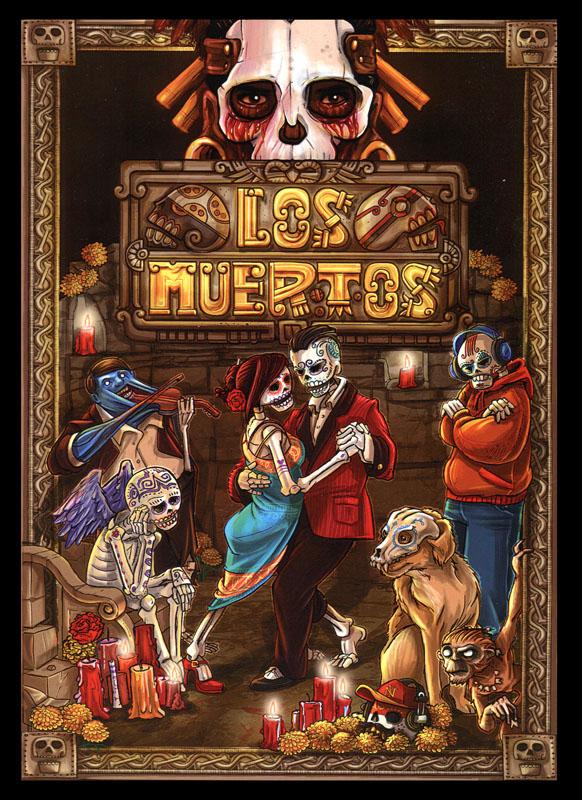 Cover Los Muertos RPG