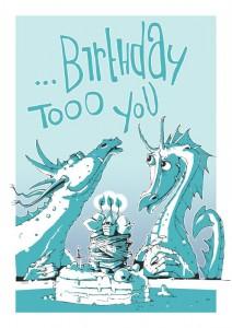 Wenn Drachen feiern ... - If Dragons have a Party ...