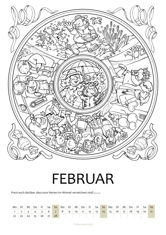 Mandala February