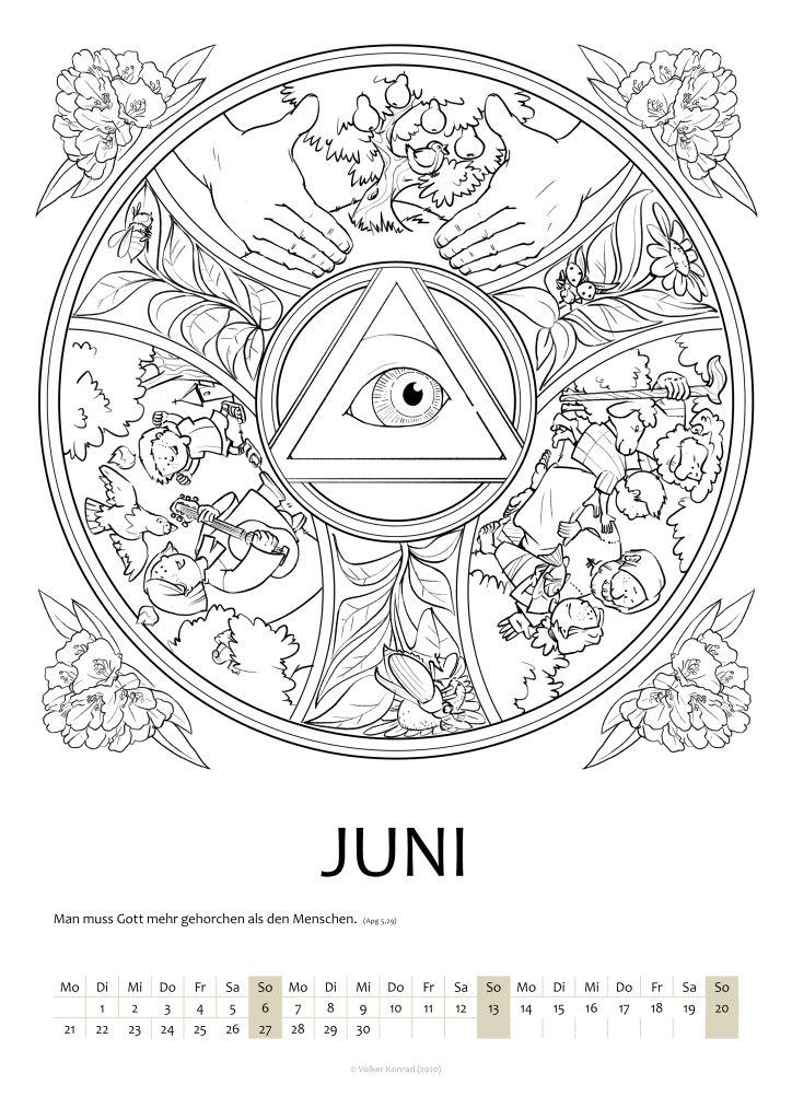 Mandala Trinitatis; Juni 2021